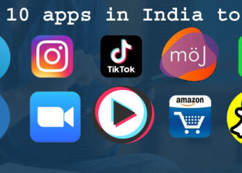 Top 10 apps in India