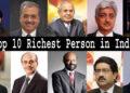 Top 10 richest person